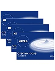 NIVEA Soap, Creme Care, 125g (Pack of 4)