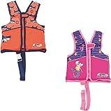 Bestway Swim Safe Schwimmweste, mit Textilbezug, für Kinder 1-3 Jahre (S/M), sortiert