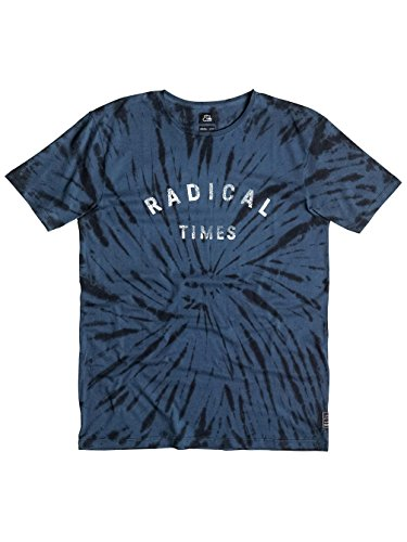 Herren T-Shirt Quiksilver Radical Tie T-Shirt Dark Denim