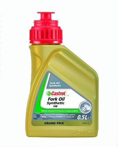 Castrol Spezialitäten Motorrad Fork Oil Synthetic SAE 5W - 500mL Flasche -