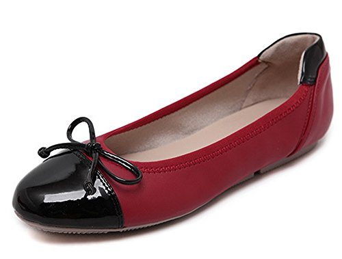 minetom-women-comfortable-color-blocked-flat-pumps-ladies-sweet-bow-tie-round-headed-work-girls-doll