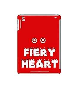 Fiery Heart 3D Hard Polycarbonate Designer Back Case Cover for Apple iPad Mini Wi-Fi