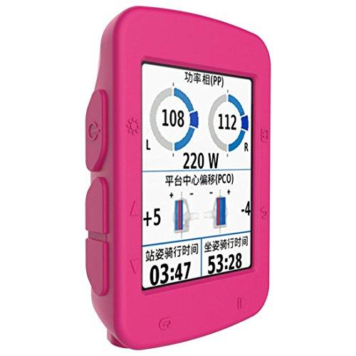 Saihui silicone di alta qualità Slim orologio case per Garmin Edge 520Smartwatch GPS, Hot Pink