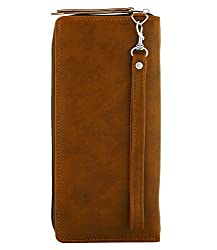 fantosy women tan card wallet fnwc-277