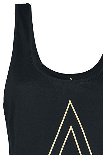 Assassin's Creed Origins - Logo Top donna nero Nero