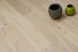 oferta tarima flotante: Mejor oferta. cepillado white-oiled Engineered Real de madera de roble suelo 15/...