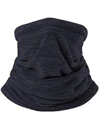 d8c2fb67b182 HNJZX Cache-Cou Homme Femme Ski Cache-Cou Coque Masque Visage Écharpe  Multifonctionnel Cache-col Écharpe Chapeau Winter…