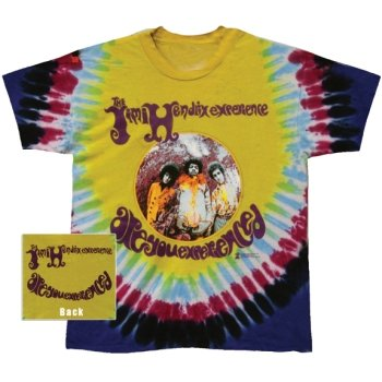 T-Shirt Jimi Hendrix - Experienced Tie Dye - Homme - Large - Import Direct USA