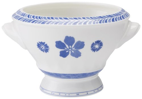 Villeroy & Boch Farmhouse Touch Blueflowers Relief SuppenSchale Boch Farmhouse