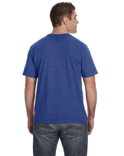 Koi auf American Apparel Fine Jersey Shirt 0Heather Blue
