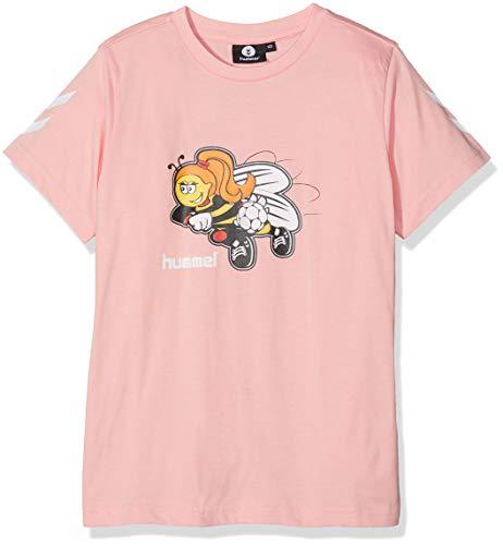 Hummel Mädchen HMLKEVYNEB S/S T-Shirt, Mellow Rose, 164