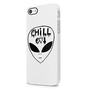 Chill Alien Trippy Tumblr iPhone 5/5S rigide Plastique téléphone Coque