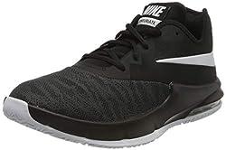 Nike Herren AIR MAX Infuriate III Low Basketballschuhe, Schwarz (Black/White/Dark Grey 000), 44 EU