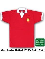 Man Utd 1973Retro Shirt