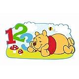 DECOFUN 35352365 - Winnie the Pooh Wandfigur Pooh & Freunde