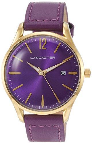 "Lancaster Paris ""Heritage"" reloj de pulsera violeta mujer"