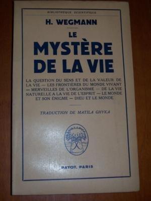 Le mystere de la vie