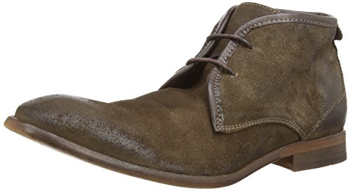 H By Hudson Cruise Suede Taupe Bottines Beige (Taupe)