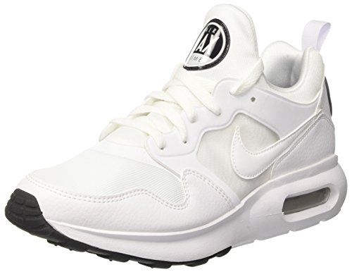 Nike Herren Air Max Prime Sneaker, Weiß (White/White-Pure Platinum-Black), 45 EU (Nike Air Supreme)