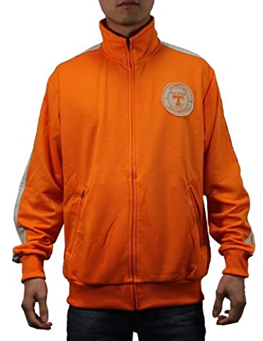 NCAA Tennessee Volunteers Mens Zip-Up Training jacket with embroidered logo