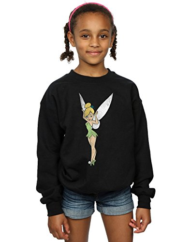 r Pan Classic Tinkerbell Sweatshirt 12-13 years Schwarz ()