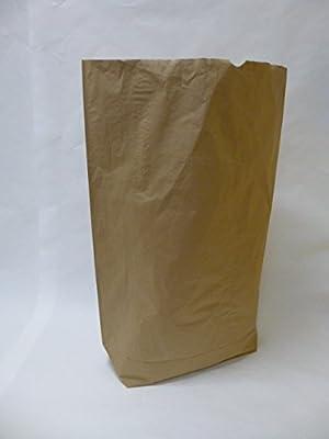 """50 St. Papier-Bioabfallsäcke 120l Format 70x95x22 cm Motiv: """"unbedruckt"""", 2lagig, mit extra Bodendeckblatt von Rodenbacher Papieragentur GmbH auf Du und dein Garten"""