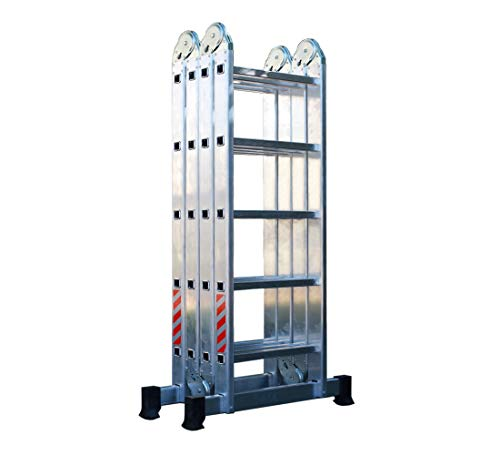 Escalera Multiuso 4x5 Plegable en Aluminio, Escada Multiuso em Alumínio (20...