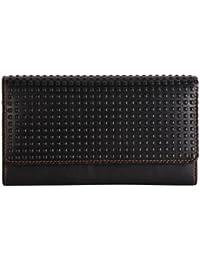 Black Cube Women's Wallet (Black)