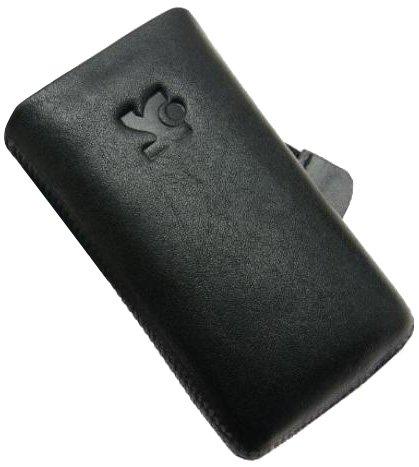 Original Suncase Echt Ledertasche für Sony Ericsson W995 in schwarz