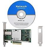E10G41BFSR / X520-SR1-Netzwerkkarte mit vergoldetem PCI-E, 10-Gbit / s-Gigabit-LAN-Karte für Windows XP / VISTA / 7/8/10 (32 und 64 Bit), SCO UnixWare 7.x, Open Unix 8.0, Novell ODI, NovellNetWare usw