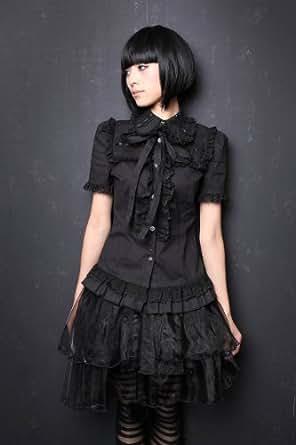 Chemisier Gothique Sweet Lolita noir - XXL - Noir
