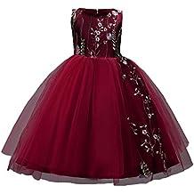 Amazon.es  vestido niña vino - Beige 3f0e89d1396d
