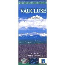 Carte touristique : Vaucluse