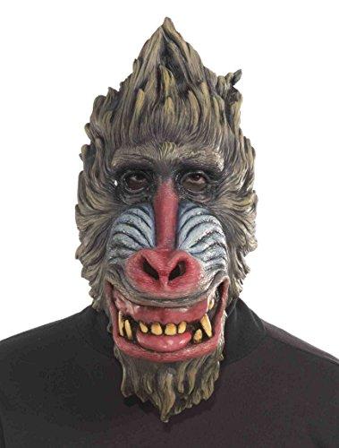 Baboon Latex Costume Mask