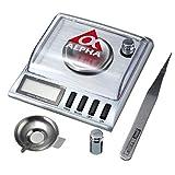 Yongse 20g 0.001g Gioielli in Acciaio Inox Bilancia Tascabile Digitale Peso Gram elettronico