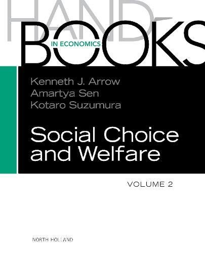 Handbook of Social Choice and Welfare (Volume 2) (Handbooks in Economics) D60-serie