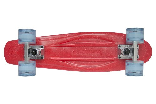 Kryptonics Skateboard Torpedo Serie Red Metal, rot