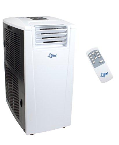 SUNTEC mobiles lokales Klimagerät TRANSFORM 12.000 [Für Räume bis 130 m³ (~60 m²), Kühlen + Heizen + Entfeuchten, 12.000 BTU/h, Energieeffizienzklasse A/A++]