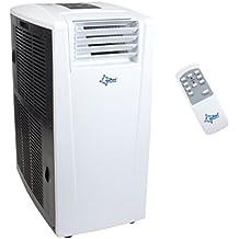 SUNTEC mobiles lokales Klimagerät TRANSFORM 14.000 [Für Räume bis 160 m³ (~70 m²), Kühlen + Heizen + Entfeuchten, 14.000 BTU/h, Energieeffizienzklasse A/A++]