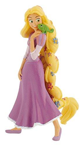 Bullyland - Figura de Walt Disney Rapunzel con Paleta de Pintura, Aprox. 10 cm