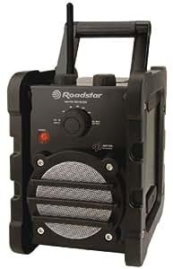 Roadstar Portable Worksite Radio Receiver Shock Resistent FM/MW Band