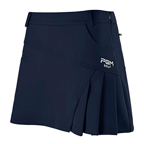 WESTLINK Damen Skort Golf Rock Sport Rock Integrierte Shorts Sport-Hosenrock, Marineblau, S (Golf Bekleidung)