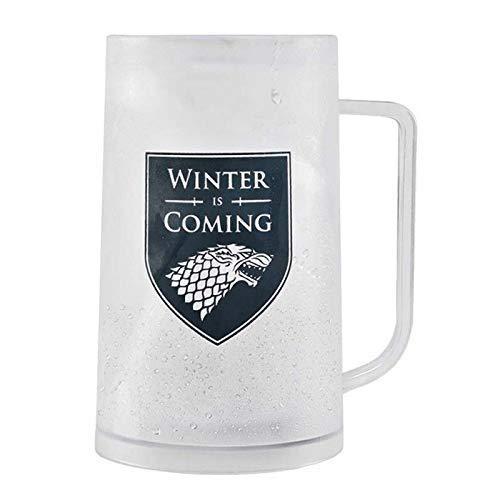Jarra con liquido interno para congelar, jarra helada sin hielo, esta es tu mejor opcion. Winter IS Coming,