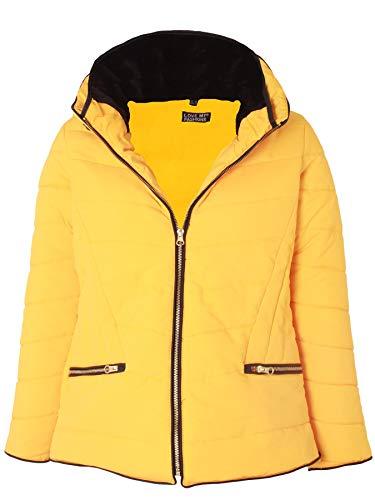 Love My Fashions - Abrigo - Túnica - Mujer Amarillo