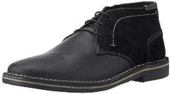Steve Madden Mens Henrie Black Multi Leather Boots - 8 UK