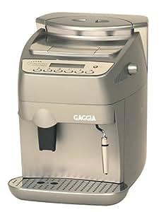 Gaggia 9004 Syncrony Compact Digital Super Automatic Espresso Machine, Silver