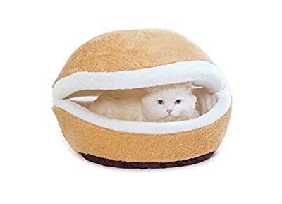 Cat bed - Cat Mat and Bed,Cat Scratching, Large Pet Bed with Self-heating Thermal Core Furniture&Carpets Fur-free Warm House for Cat