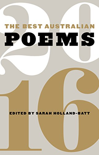 The Best Australian Poems 2016 (English Edition)