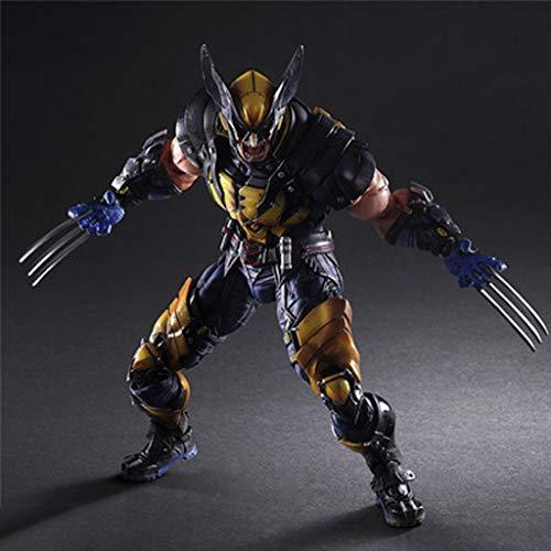 Muñeca De Juguete PA Cambio Héroe Wolverine Lobo