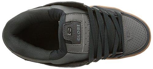 Globe Herren Fusion Sneakers Grey (Night/Charcoal/Gum)